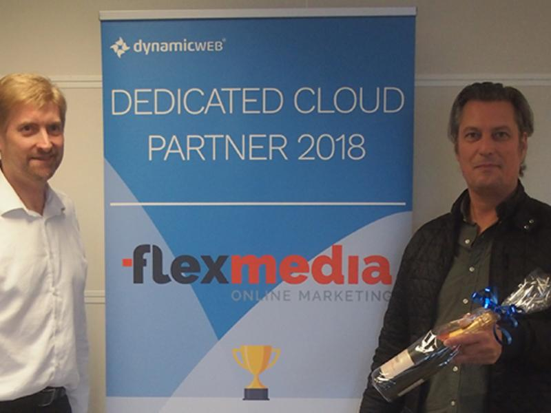 Flex Media kåret som årets Dedicated Cloud Partner 2018